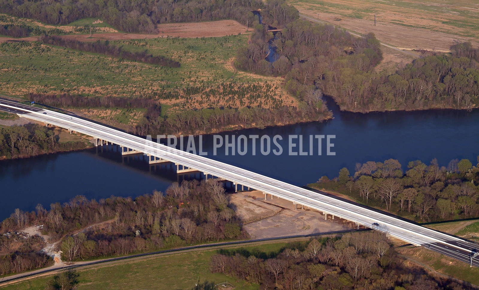 Bridge Bobby Jones Augusta GA | Aerial Photos Elite