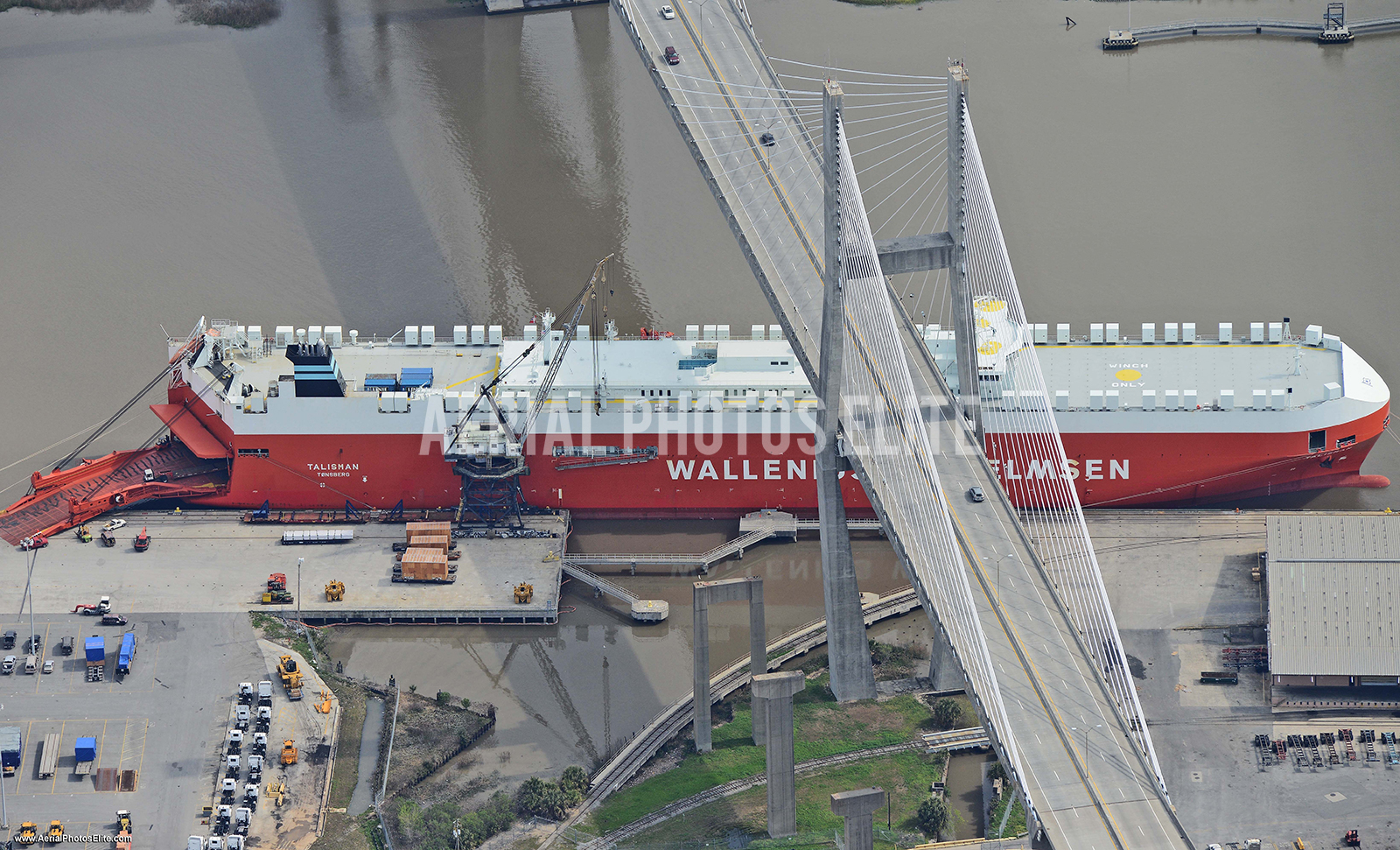 Ship Savannah GA | Aerial Photos Elite