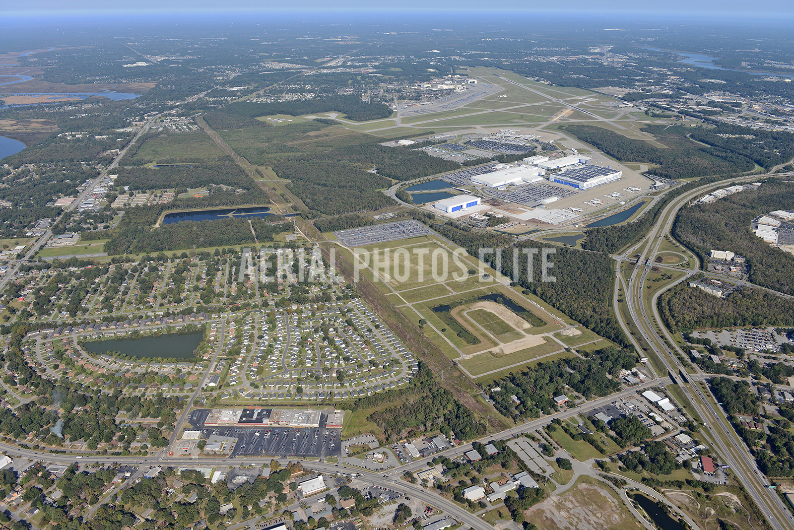Boeing At a Distance Charleston, SC | Aerial Photos Elite | Aerial Photos Elite