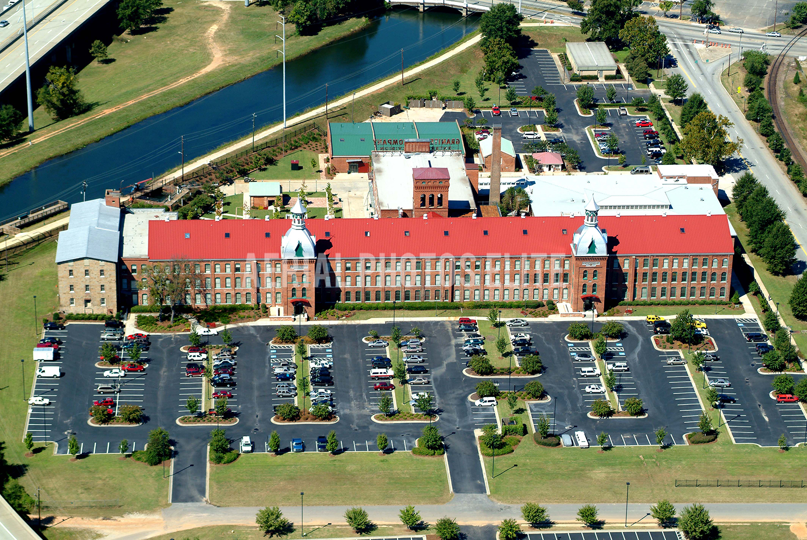 Enterprise Mill Augusta GA | Aerial Photos Elite | Aerial Photos Elite