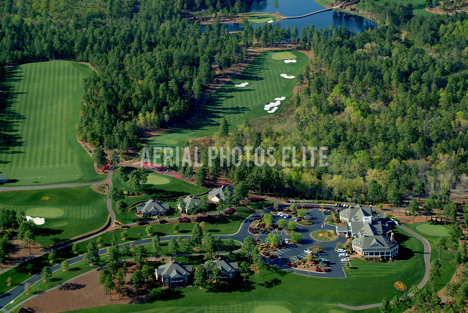 Aerial Sage Valley Golf Clubhouse | Aerial Photos Elite