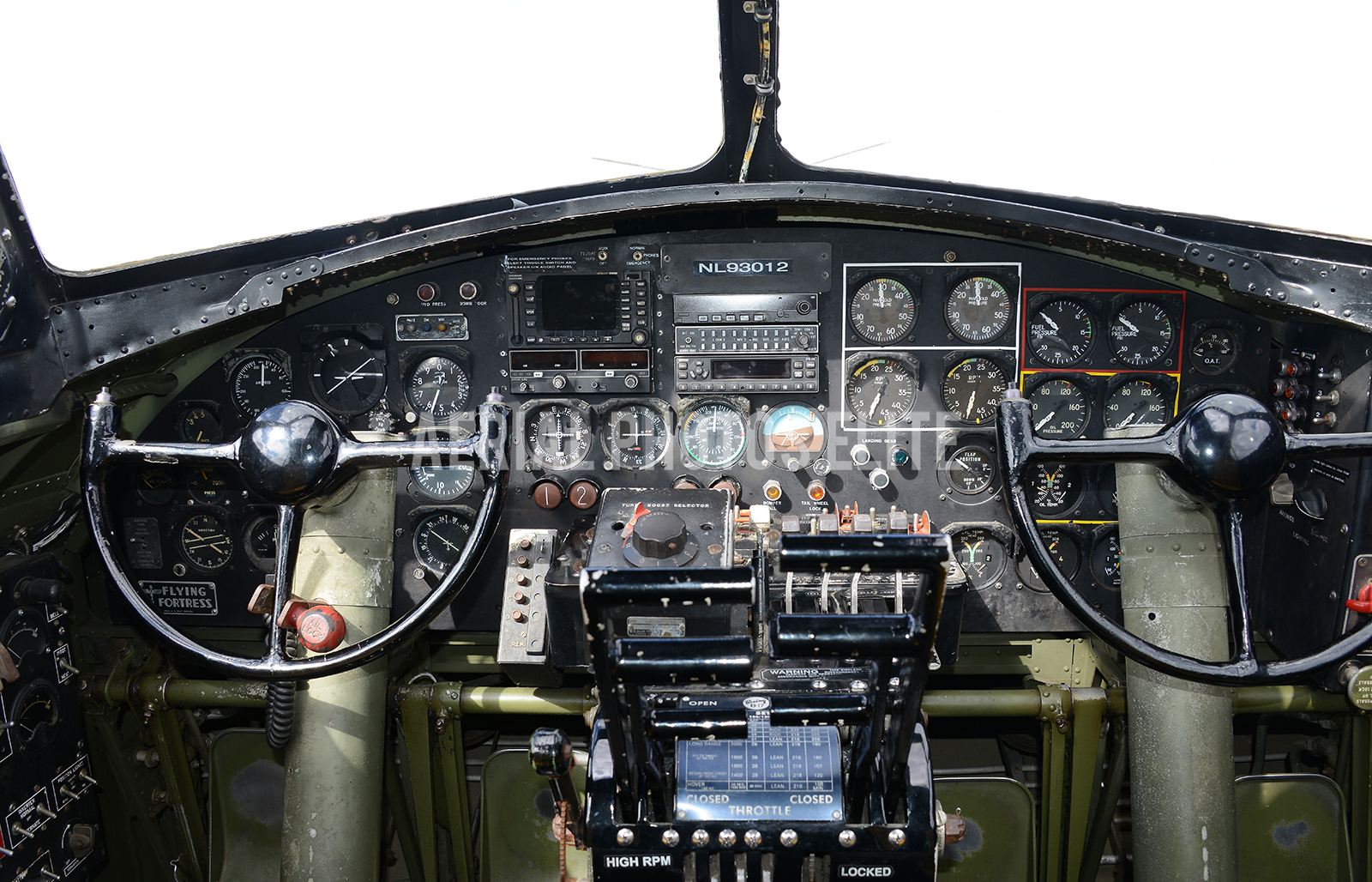 B-17 Cockpit Aiken SC | Aerial Photos Elite