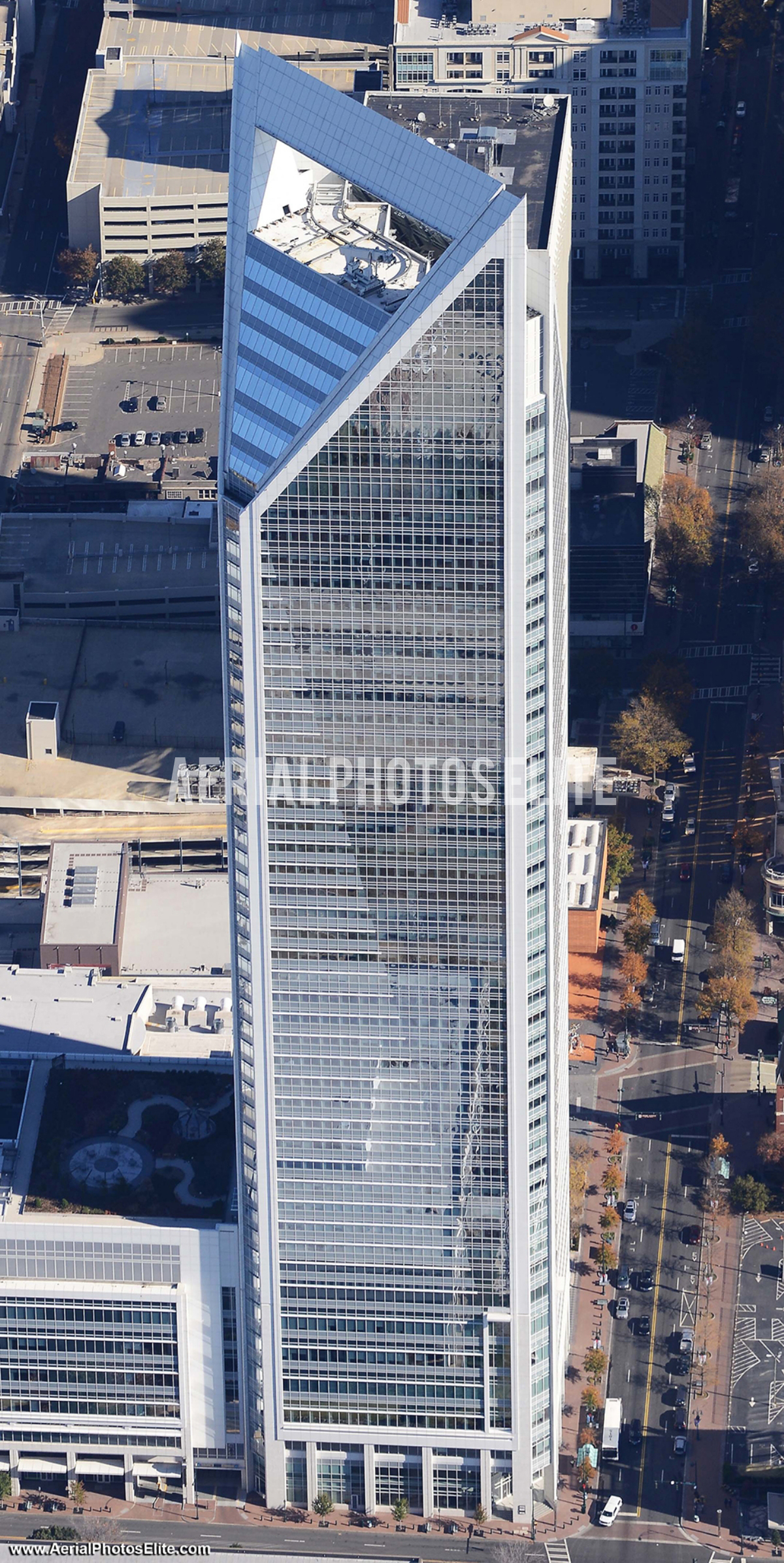 Towering Reflections, Charlotte, NC | Aerial Photos Elite