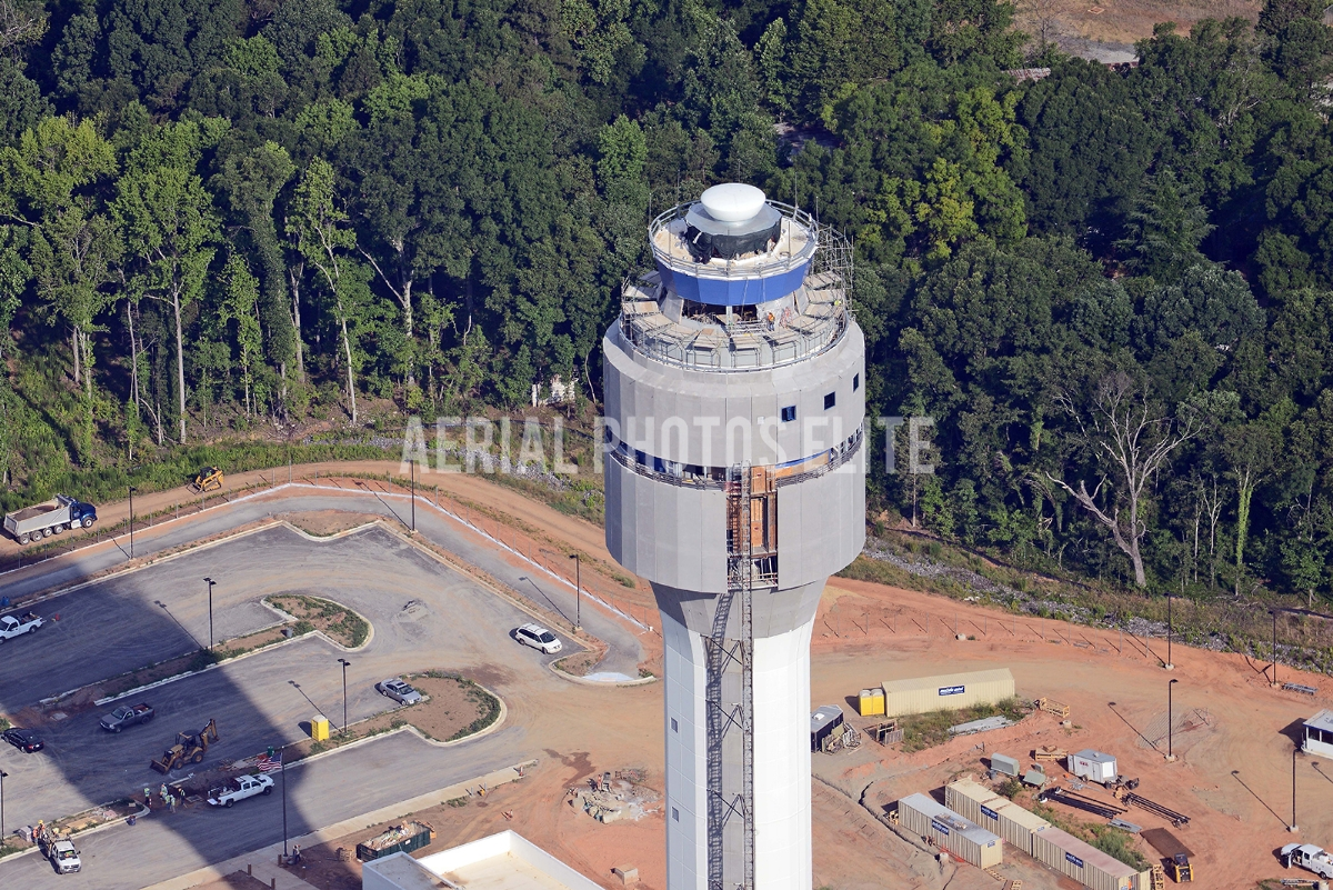 Control Tower Charlotte International Airport NC | Aerial Photos Elite | Aerial Photos Elite