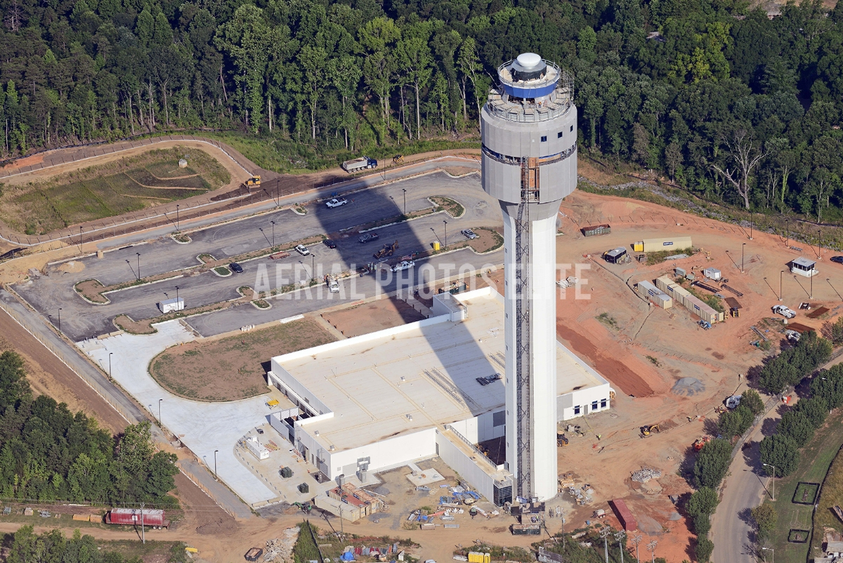 Control Tower 2 Charlotte International Airport NC | Aerial Photos Elite - 2 | Aerial Photos Elite