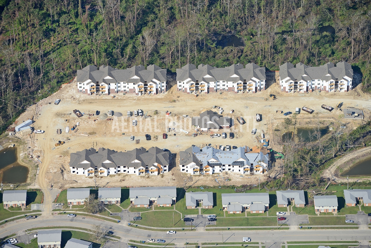 Cypress Cove Wilmington NC New Construction | Aerial Photos Elite