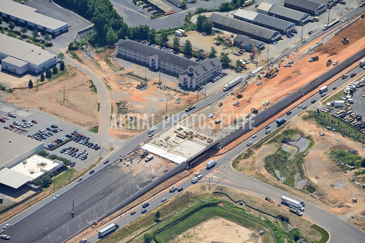 Monroe Bypass Charlotte NC | Aerial Photos Elite