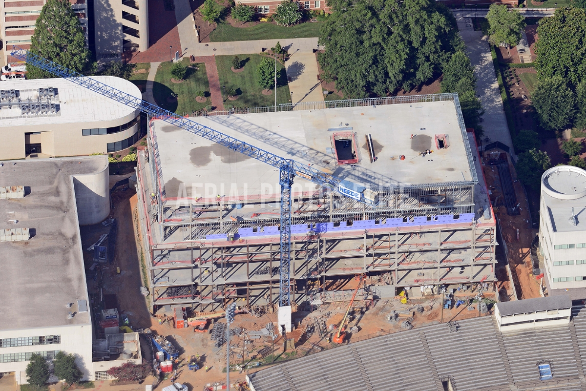 New Education Center Charlotte NC | Aerial Photos Elite