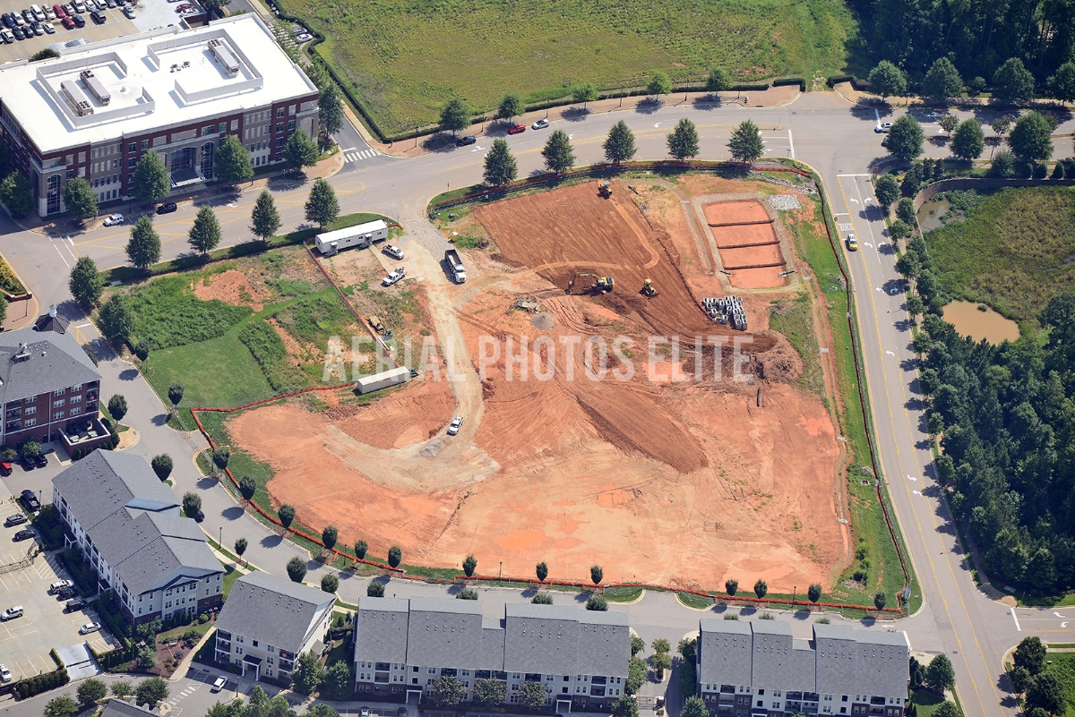 Parkside Construction Raleigh NC | Aerial Photos Elite