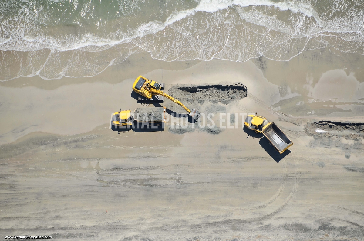Playin' in the Sand Isle of Palms SC | Aerial Photos Elite
